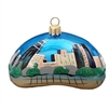 Chicago Bean In Day Ornament