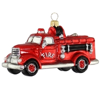 Vintage Fire Engine  4.5""