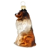 Small Collie Dog Ornament