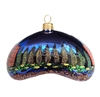 Chicago Bean At Night Ornament