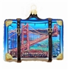 San Francisco Golden Gate Bridge Suitcase