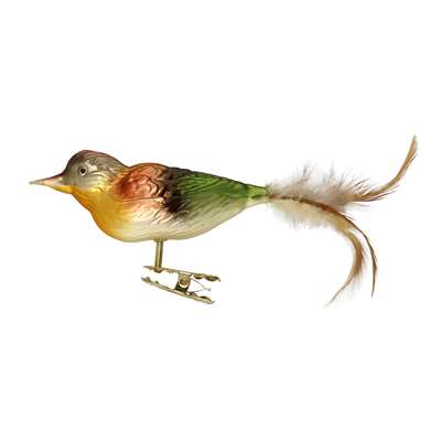 "Forest Bird  7"" w/tail"