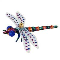 "XL Purple Dragonfly 6.5"" Wing Span"