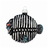 Black & White Bonefish Ornament