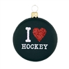 I Love Hockey Puck