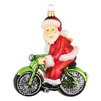 XL Exclusive Santa On Bicicyle