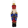 Blue Red Guard Nutcracker Ornament