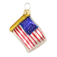 "Mini Flag USA  1.7""W"