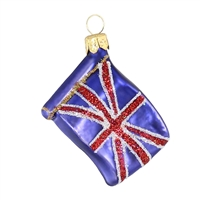"Mini Flag Great Britain  1.7""W"