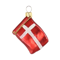 Mini Flag Denmark  1.7""