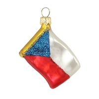 Mini Flag Czech  1.7""