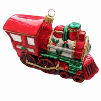"Christmas Locomotive Train  4.87""L"
