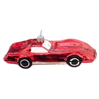 Red Sports Car Corvette Like