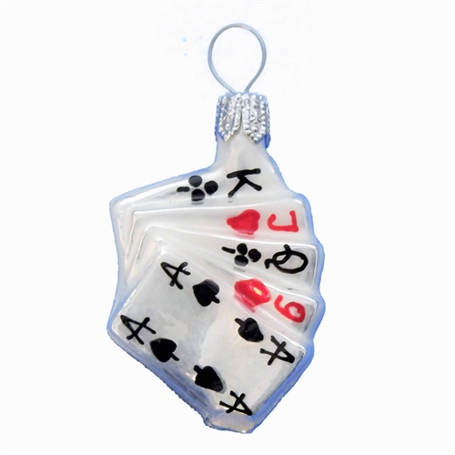 Mini Playing Card Hand