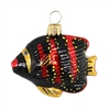 Tropical Fish Black & Red
