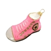 Pink Canvas Converse Inspired Shoes
