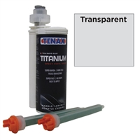 Transparent 250 ML Cartridge Titanium Extra Rapid