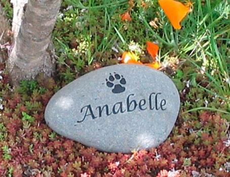 personalized pet memorial stones say it in stones