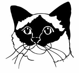 Birman Cat Head memorial graphic