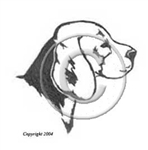 Beagle Dog memorial graphic