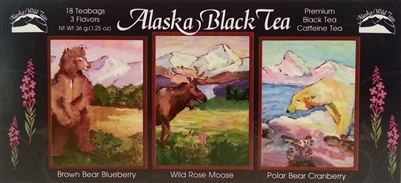 Black Tea Wild Life Alaskan Sampler