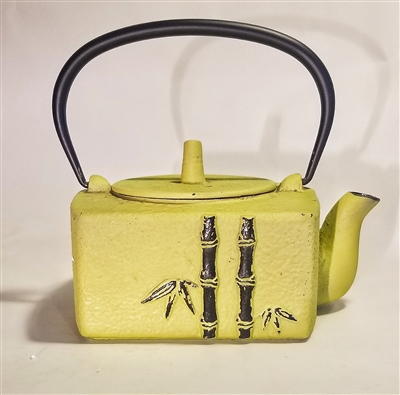 iron Bamboo themed Teapot