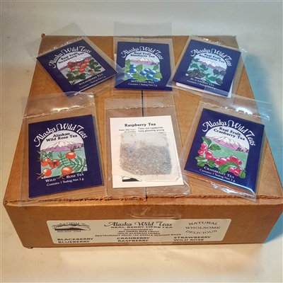 Wild Teas Single Serving Restaurant pack