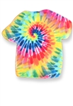 Rainbow Tie Dye Shirt Cookie