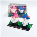 2 Piece Garden Gnome- Summer Edition Bubble Chums