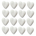 Large White Hearts Icing- 96/CS