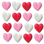 Assorted Hearts Royal Icing- 96/CS