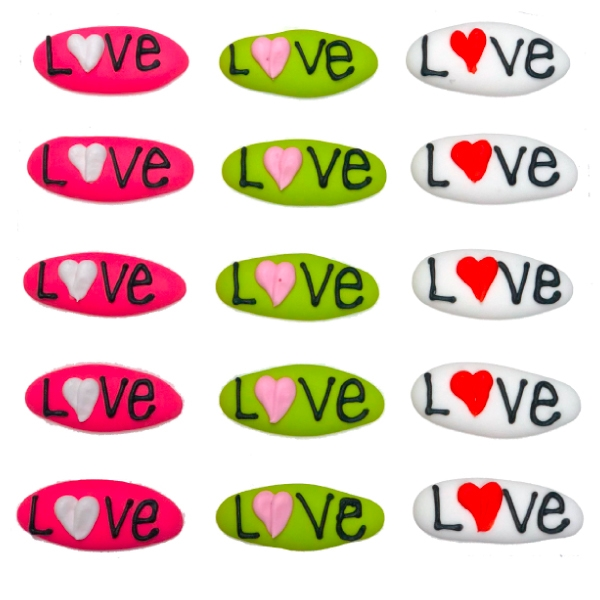 Love Plaques, Assorted- 90/CS