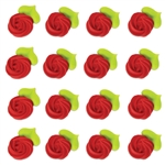 Large Red Rosettes Icing- 96/CS