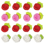 Large Assorted Rosettes Icing- 96/CS