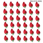 Small Red Rose Bud Icing- 216/CS