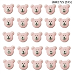 Pink Teddy Face Icing- 150/CS