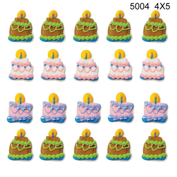 Large Birthday Cakes (Assorted) Bulk- 120/CS