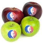 """Healthy"" Logo Apple"