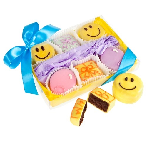 Happy Birthday Brownie Gift Box of 6