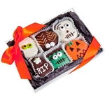 Halloween Brownie Gift Box of 6