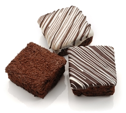 Triple Chocolate Giant Brownies- Individually Wrapped