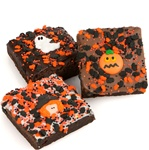 Halloween Triple Chocolate Extra Large Brownies, Individually Wrapped