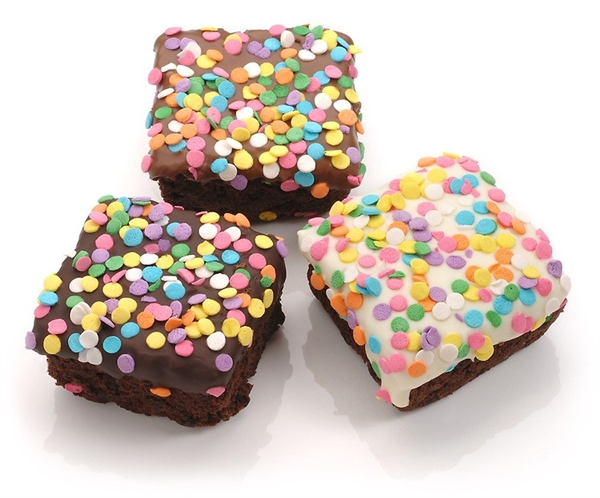 Confetti Triple Chocolate Giant Brownies- Individually Wrapped