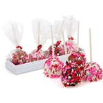 Heart Sprinkles Brownie Stix- Gift Box of 4