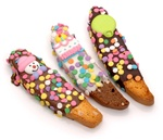CHOCOLATE DIPPED & DECORATED BISCOTTI