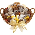 "12"" LARGE CLASSIC FAVORITES GOURMET GIFT BASKET"