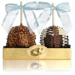 CLASSIC CARAMEL CHOCOLATE GOURMET APPLE DUET