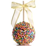 CONFETTI CELEBRATION CARAMEL CHOCOLATE GOURMET APPLE