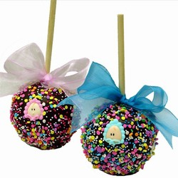 New Baby Chocolate Favor Apples