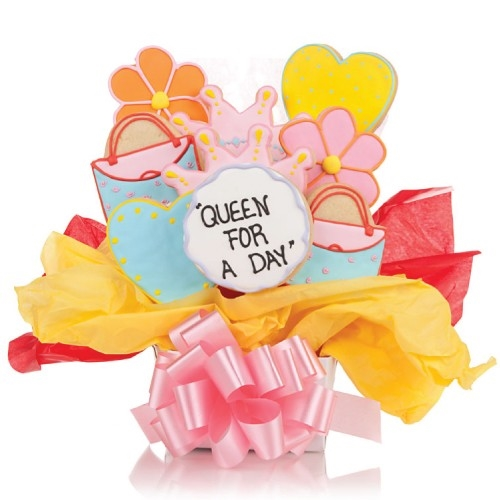 Queen for the day Cookie Bouquet